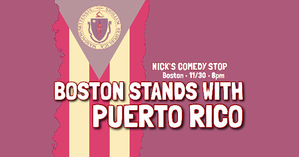 Boston Stands with Puerto Rico